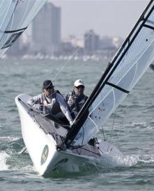 Fitzgibbon and Tesch on their way to Gold in Miami - Photo Rolex - Daniel Forster