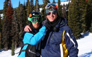 An image of Matt Robinson with Pim Berkhout