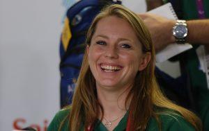An image of Kate McLoughlin smiling