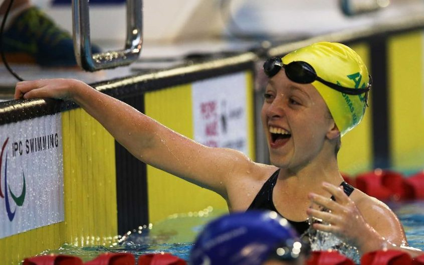World record for 13-year-old Tiffany Thomas Kane as Dolphins light up the pool in Glasgow