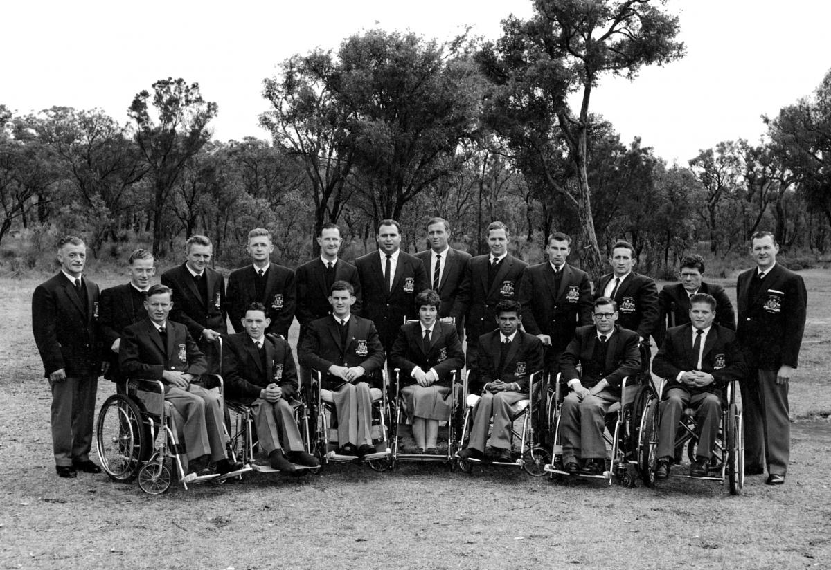 Elements of the Australian Paralympic History Project
