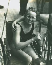 1964 Swimming Ceeney and Edmondson photoshopped