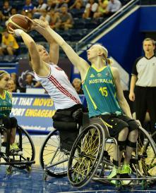 Amber Merritt defence vs Canada