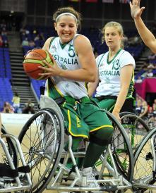 AUS Cobi Crispin Wheelchair BB Semifinal