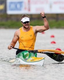 Curtis McGrath - Canoe Sprint World Championships