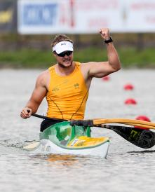 Curtis McGrath - Canoe Sprint World Championships