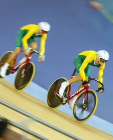 David Nicholas AUS Leads Cycling