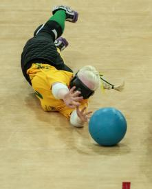 Jennifer Blow NicoleEsdaile Womens GoalBall AUSvUSA