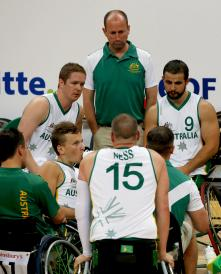 Mens Wheelchair Basketball AUS Prelim