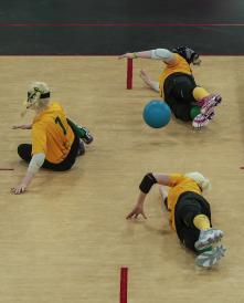 Team Australia Womens GoalBall AUSvUSA