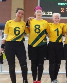 Goalball girls