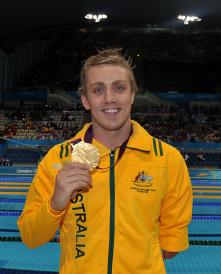 Matt Cowdrey (Gold)100m back