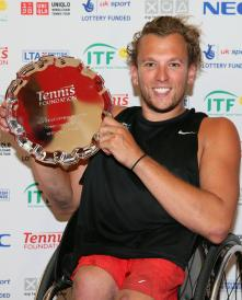 Dylan Alcott British Open