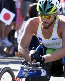 Kurt Fearnley - T54 marathon GOLD