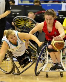 Kylie Gauci defence vs Great Britain