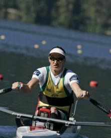 Rowing Erik Horrie