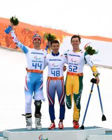Bronzed Aussie opens Sochi account