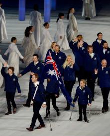 Sochi2014 Opening_AUS