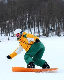 Sochi 2014 Training Joany Badenhorst