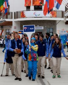 Sochi2014 Village welcome