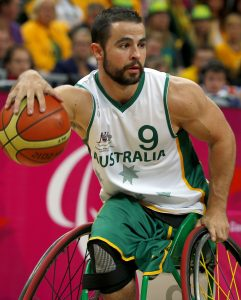 Australia v South Africa, Preliminaries - Group A, Day01, 30th August 2012, Men's Wheelchair Basketball,© Sport the library/Greg Smith
