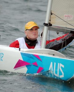 Matthew Bugg (AUS)  Sailing : 2.4mR (Single person keelboat) Weymouth and Portland Paralympics - Summer / London 2012 London England 29 Aug - 9 Sept  © Sport the library / David Staley / IFDS