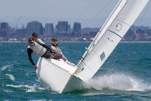 Sailing - Para World Sailing Championships 2015, Royal Yacht Club of Victoria, Williamstown (Aus). 1/12/2015. Photo: Teri Dodds.