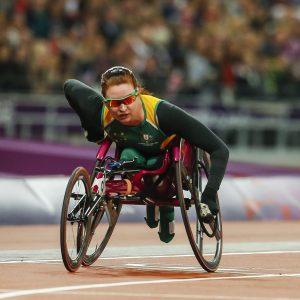 Image of Australian wheelchair racer