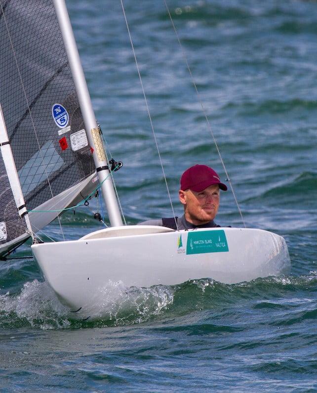 Matt Bugg wins gold at Sailing World Cup