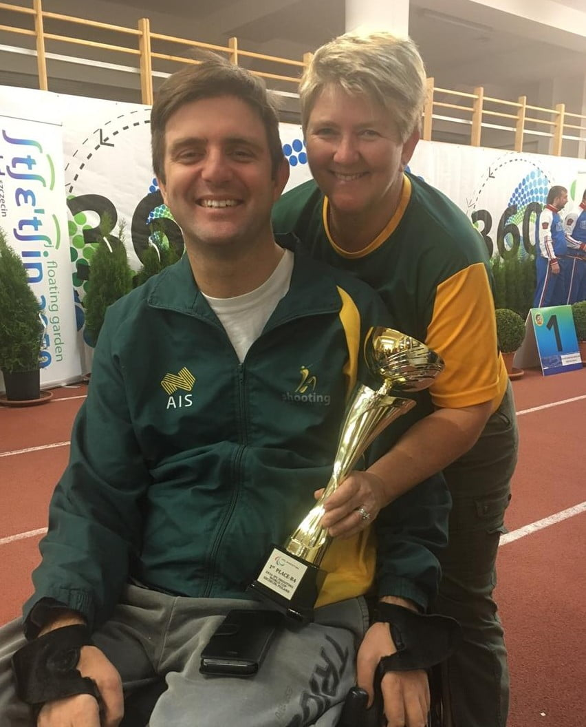 Gold and Silver overnight for Australia at IPC Shooting World Cup in Szczecin