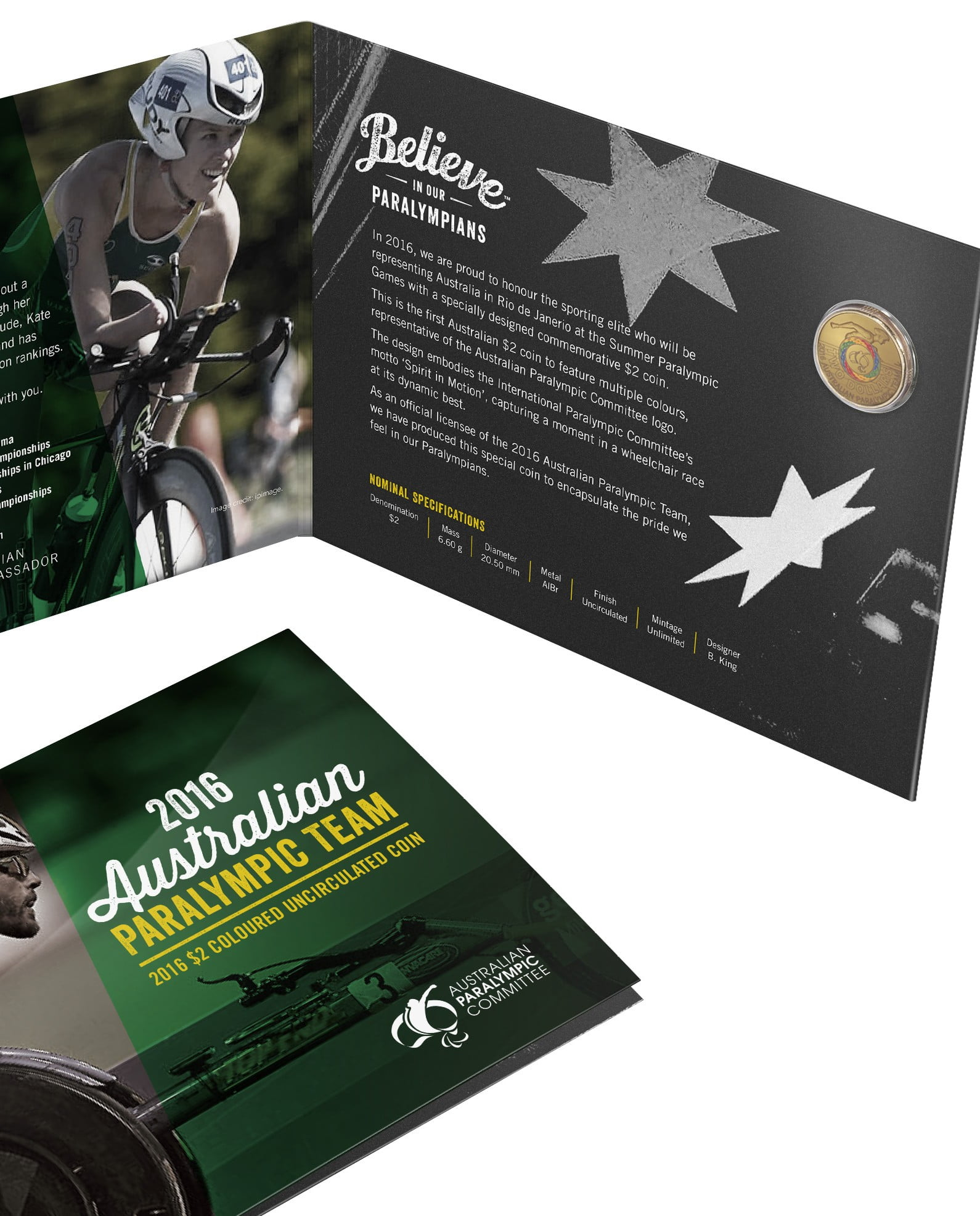 Woolworths shoppers win gold with exclusive Paralympic coin launch