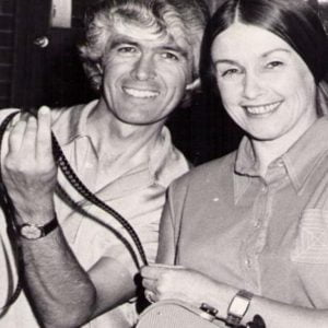 An old picture of Don and Barbara Worley