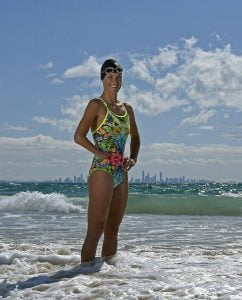 RIO 2016 APC Para-Triathlon Team Announcement at the Coolangatta SLSC with athlete Kate Doughty Australian Paralympic Committee Coolangatta SLSC Qld QLD Wednesday 3rd August 2016 © Sport the library / Jeff Crow