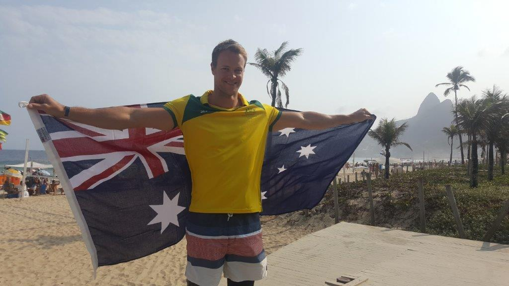 Curtis McGrath named Australian flag-bearer for closing ceremony