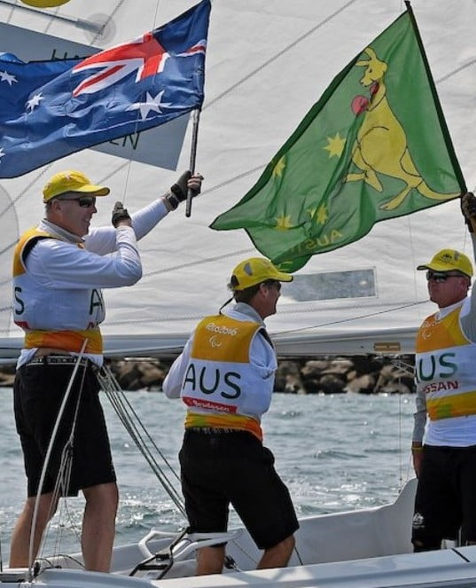 Three gold and one silver for Australia's sailing team
