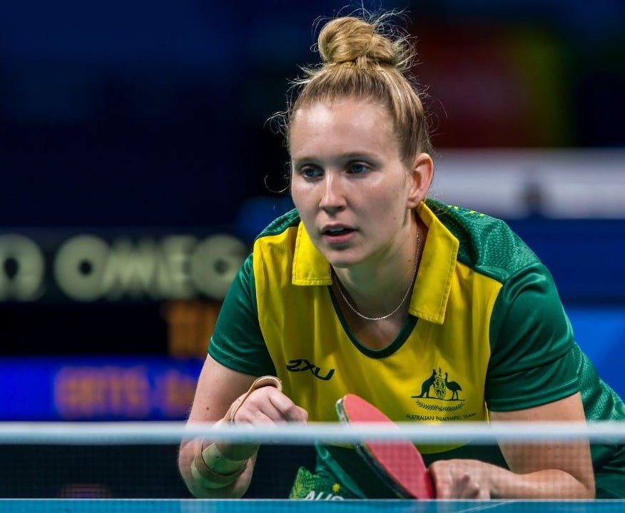 Australia back in the table tennis game with team events