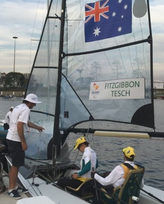 Tesch and Fitzgibbon successfully defend a Paralympic title