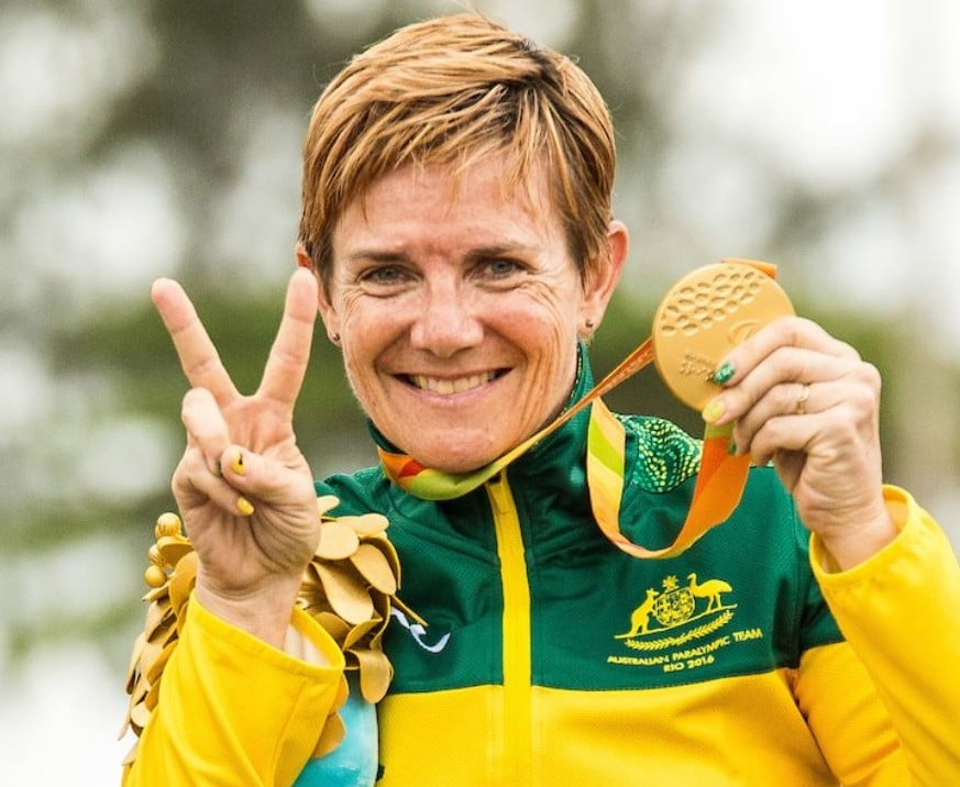 Carol Cooke wins her second Rio gold