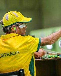 Christopher Pitts misses out on qualifying in Mens 10m air pistol on day two at Olympic shooting centre 2016 Paralympic Games - RIO Brazil Australian Paralympic Committee Thursday 8th September 2016 © Sport the library / Drew Chislett
