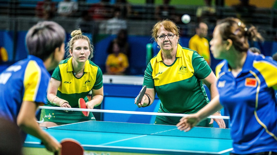 Women's table tennis team to play off for bronze