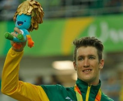 Nicholas wins Paralympic gold