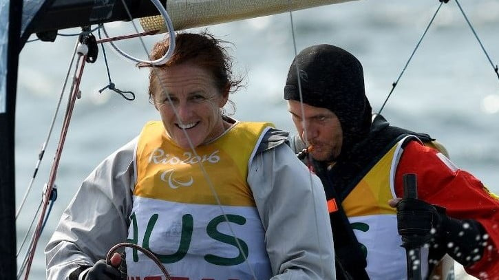Two sailing gold medals with a day to spare