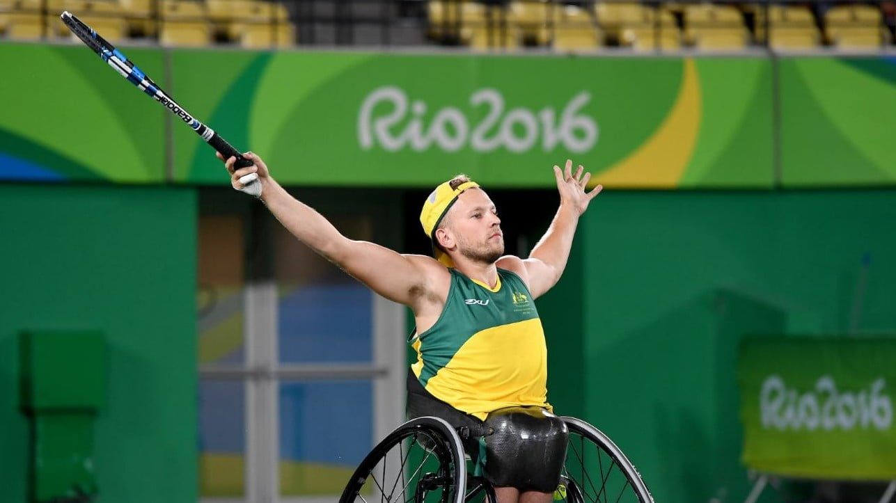 Alcott's double gold creates history