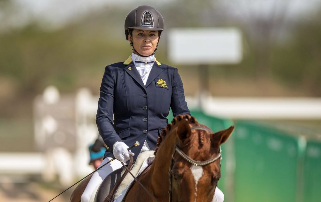 Equestrians forced to battle Rio heat