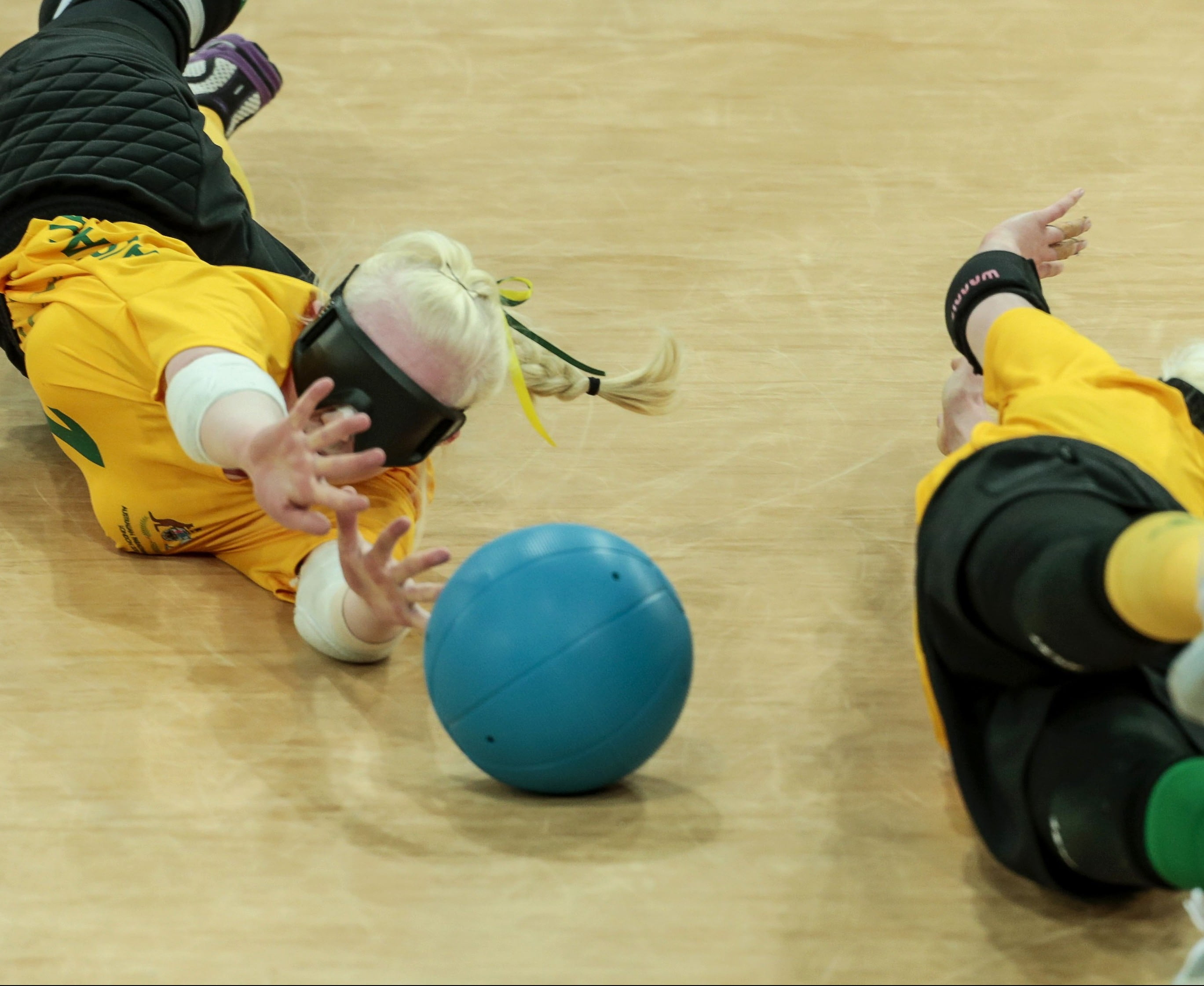 Tough Chinese opener for Aussie goalball team