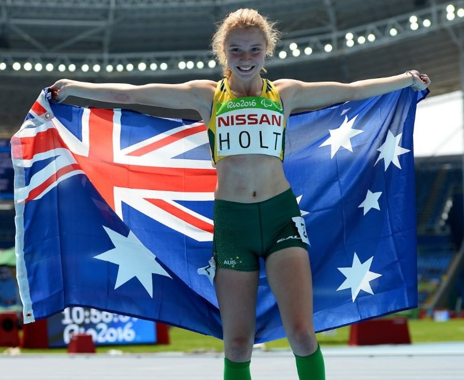 Holt surges to silver in Rio