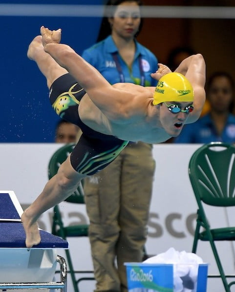 Silver lining for Cochrane as he switches focus to freestyle relay