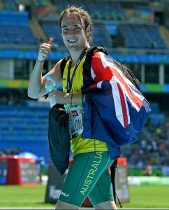 Brayden Davidson – Men's long jump T36  GOLD Olympic Stadium / Day 5 Athletics 2016 Paralympic Games - RIO Brazil Australian Paralympic Committee Rio Brazil Monday 12  September 2016 © Sport the library / Jeff Crow