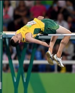 Aaron Chatman – Men's high jump T47 Bronze Olympic Stadium / Day 9 Athletics 2016 Paralympic Games - RIO Brazil Australian Paralympic Committee Rio Brazil  Friday 16th September 2016 © Sport the library / Jeff Crow
