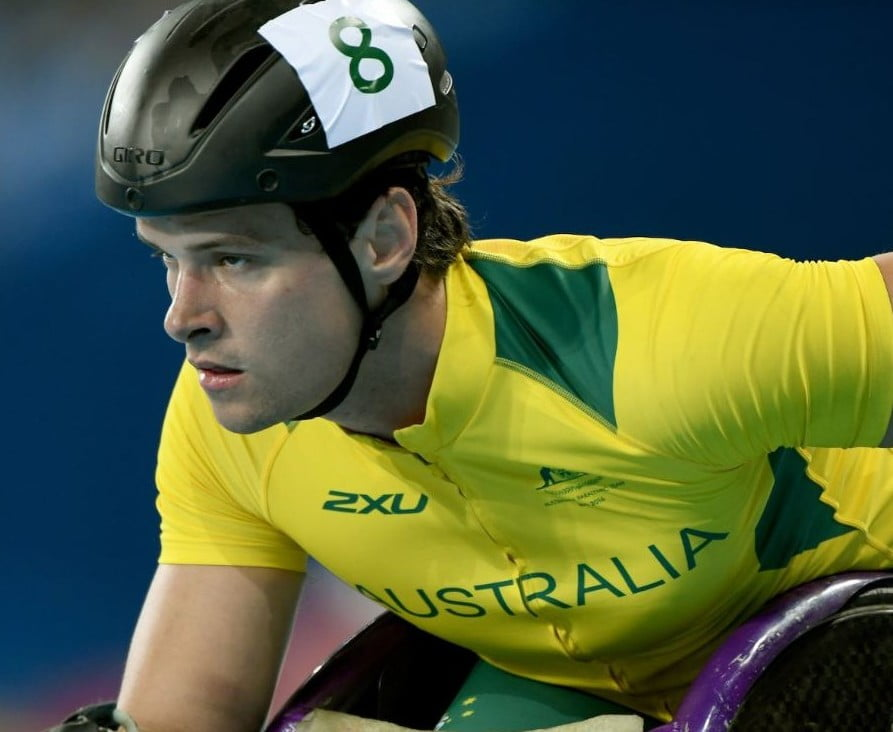 Wheelchair athlete withdraws from 800m heats